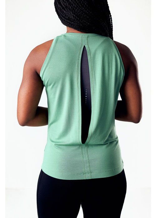 Asquith Asquith Diamond Back Vest - Sage