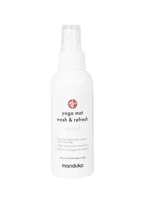 Manduka Manduka Yoga Mat Wash & Refresh 118ml - Lavender