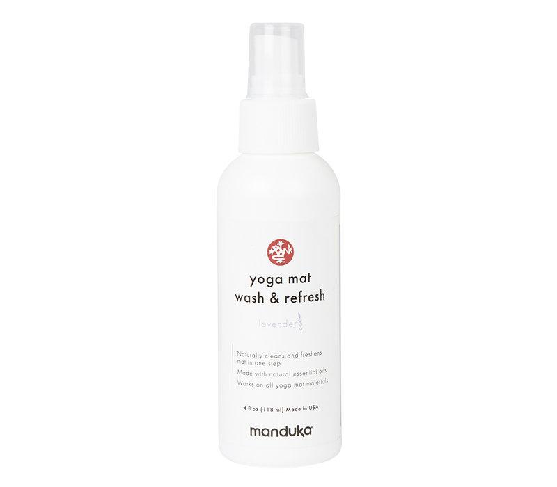 Manduka Yoga Mat Wash & Refresh 118ml - Lavender