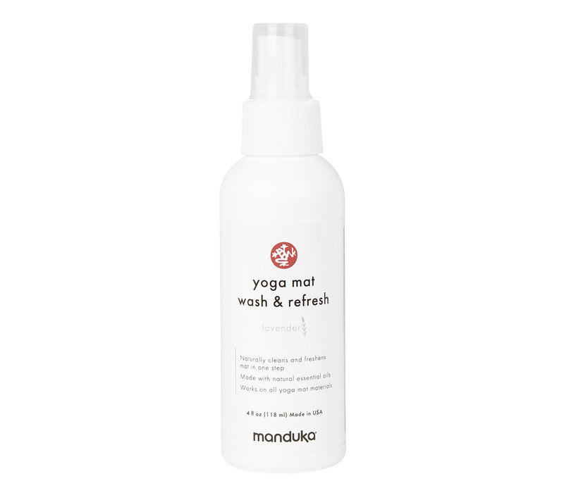 Manduka Yoga Mattenreiniger & Refresh 118ml - Lavendel