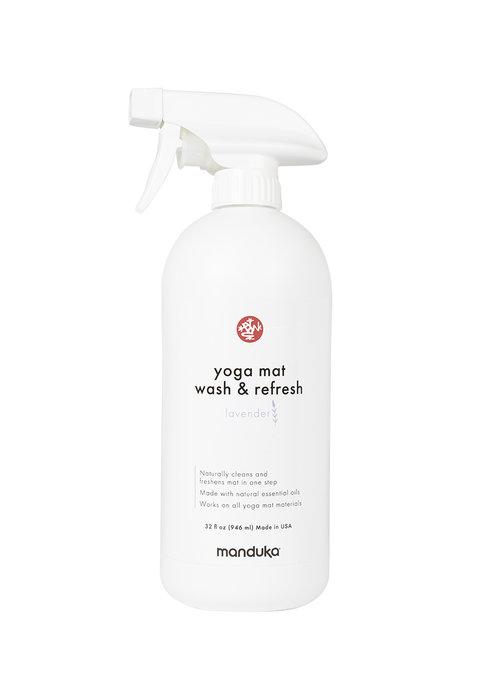Manduka Manduka Yoga Mat Wash & Refresh 946ml - Lavender