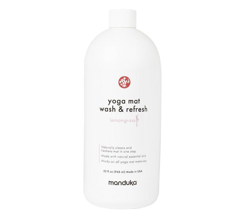 Manduka Yoga Mattenreiniger & Refresh 946ml - Zitronengras