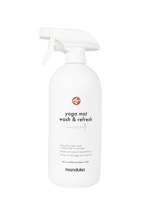 Manduka Manduka Yoga Mat Wash & Refresh 946ml - Lemongrass