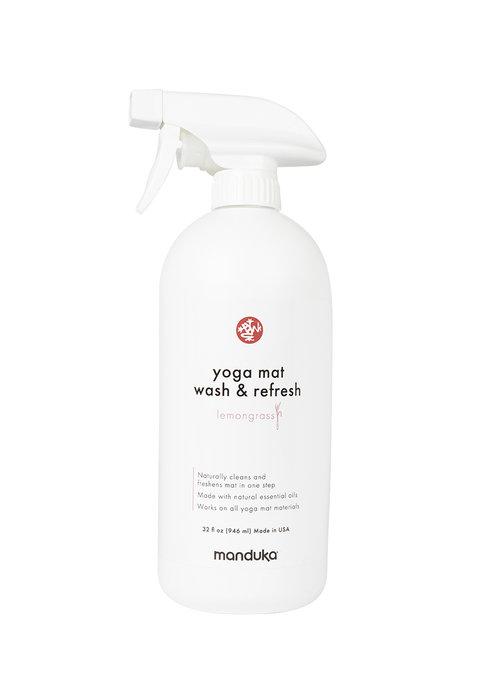 Manduka Manduka Yoga Mattenreiniger & Refresh 946ml - Zitronengras