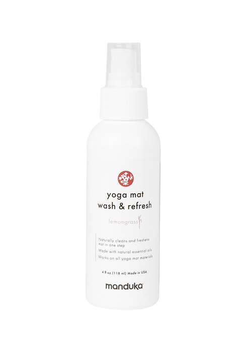 Manduka Manduka Yoga Mat Wash & Refresh 118ml - Lemongrass