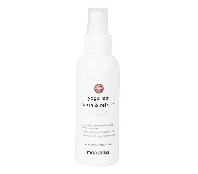 Manduka Yoga Mattenreiniger & Refresh 118ml - Zitronengras