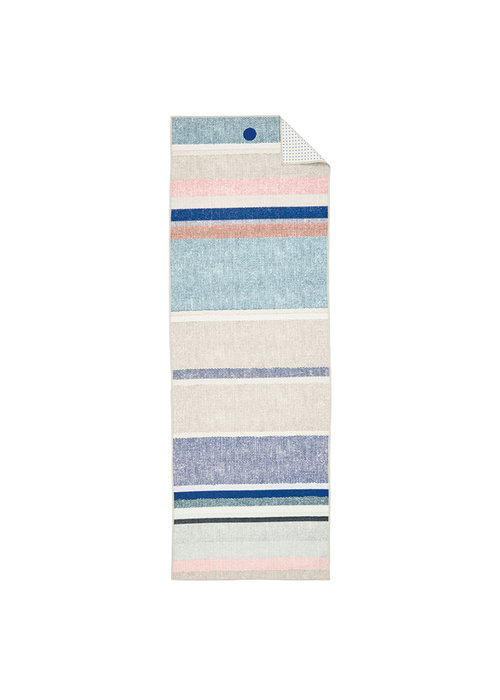 Yogitoes Yogitoes Yoga Towel 172cm 61cm - Linen Stripe