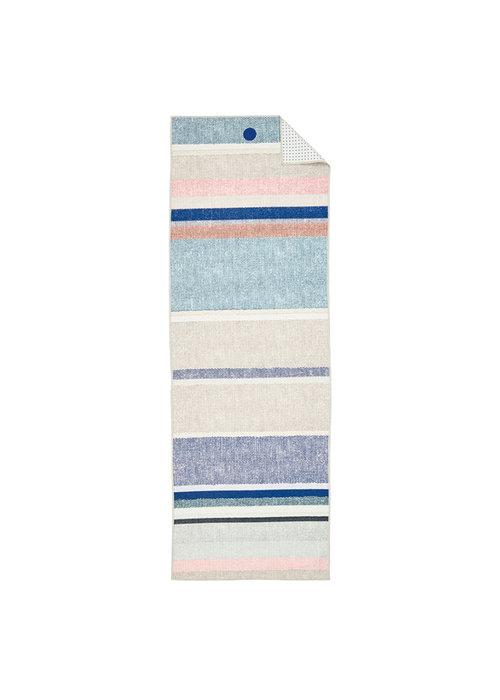 Yogitoes Yogitoes Yoga Towel 180cm 61cm - Linen Stripe