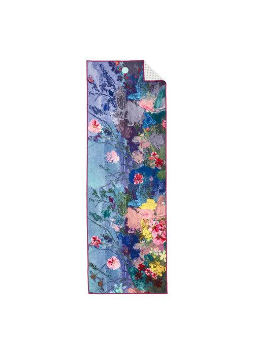 Yogitoes Yogitoes Yoga Handdoek 180cm 61cm - Illuminated Floral