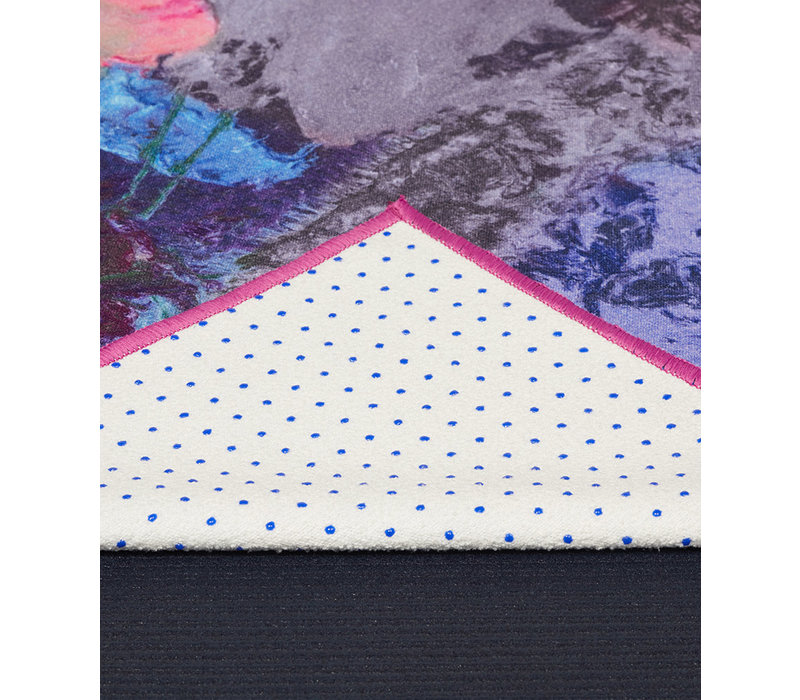 Yogitoes Yoga Towel 172cm 61cm - Illuminated Floral