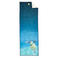 Yogitoes Yoga Towel 172cm 61cm - Turtle Sea