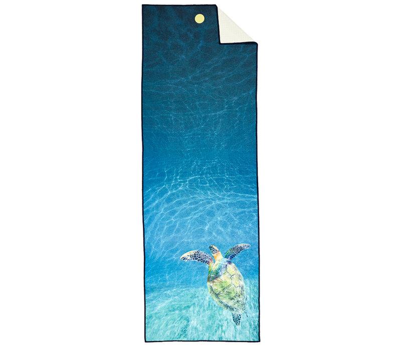 Yogitoes Yoga Handtuch 172cm 61cm - Turtle Sea