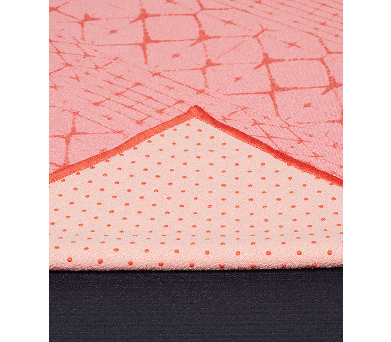 Copy of Yogitoes Yoga Handdoek 172cm 61cm - Star Dye Clear Blue