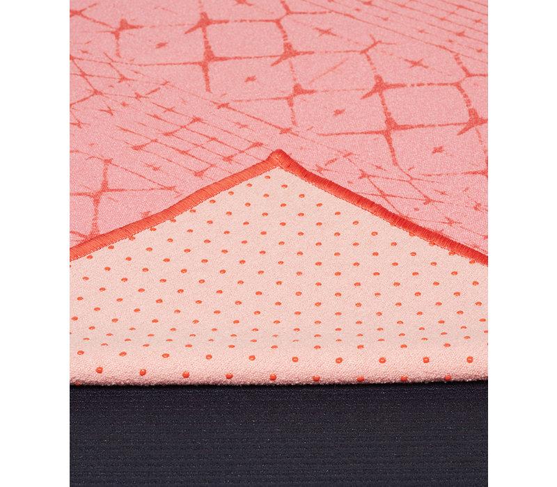 Yogitoes Yoga Towel 172cm 61cm - Star Dye Clear Coral