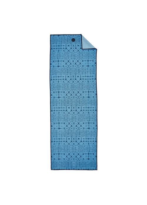 Yogitoes Yogitoes Yoga Towel 172cm 61cm - Star Dye Clear Blue