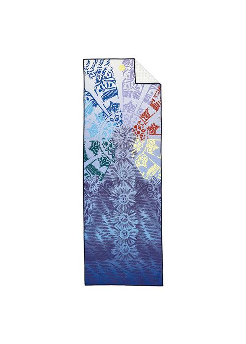 Yogitoes Yogitoes Yoga Towel 172cm 61cm - Chakra Blue
