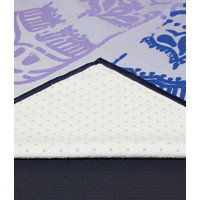 Yogitoes Yoga Handdoek 172cm 61cm - Chakra Blue