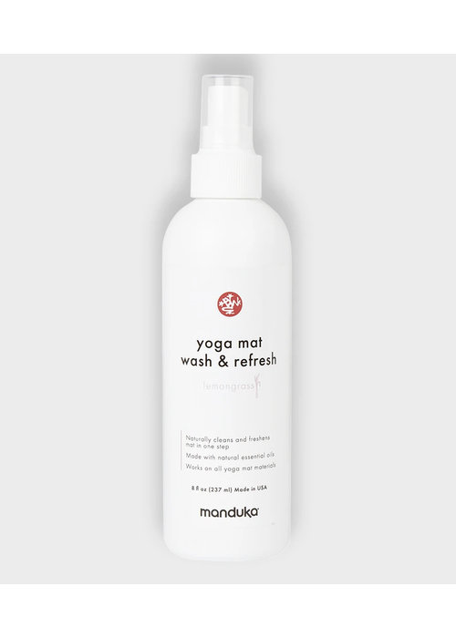 Manduka Manduka Yoga Mattenreiniger & Refresh 237ml - Zitronengras