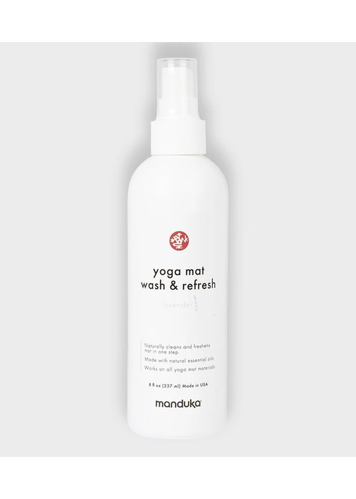 Manduka Manduka Yoga Mat Wash & Refresh 237ml - Lavender