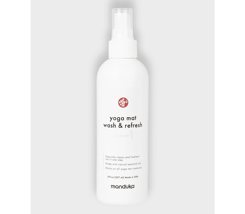 Manduka Yoga Mat Wash & Refresh 237ml - Lavender