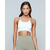Moonchild Yoga Wear Moonchild Yoga Wear Seamless Zen Top - White
