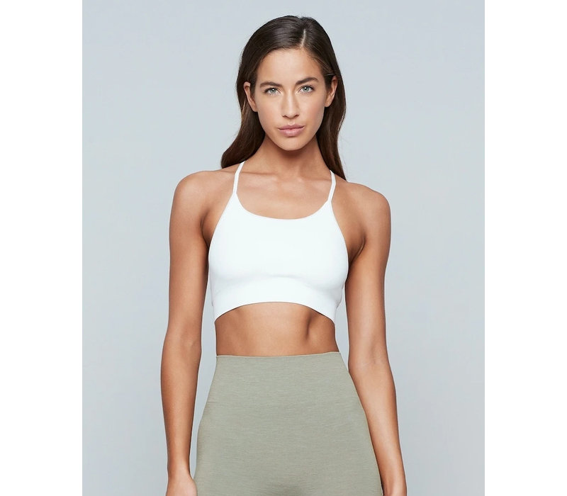 Moonchild Yoga Wear Seamless Zen Top - White