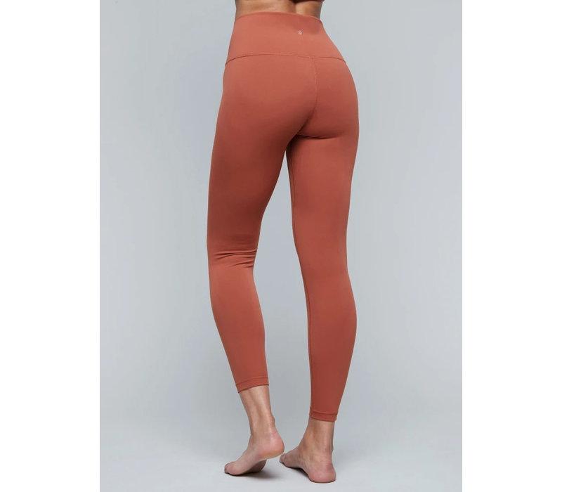 Moonchild Yoga Wear Lunar Luxe Legging - Burnt Sienna