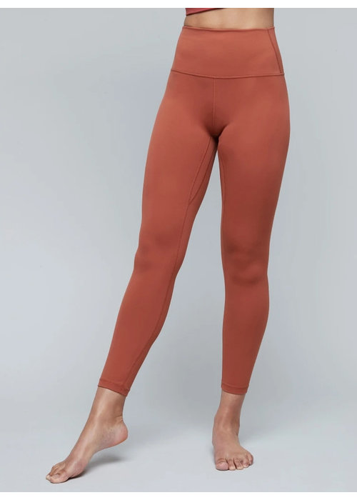 Moonchild Yoga Wear Moonchild Yoga Wear Lunar Luxe Legging - Burnt Sienna