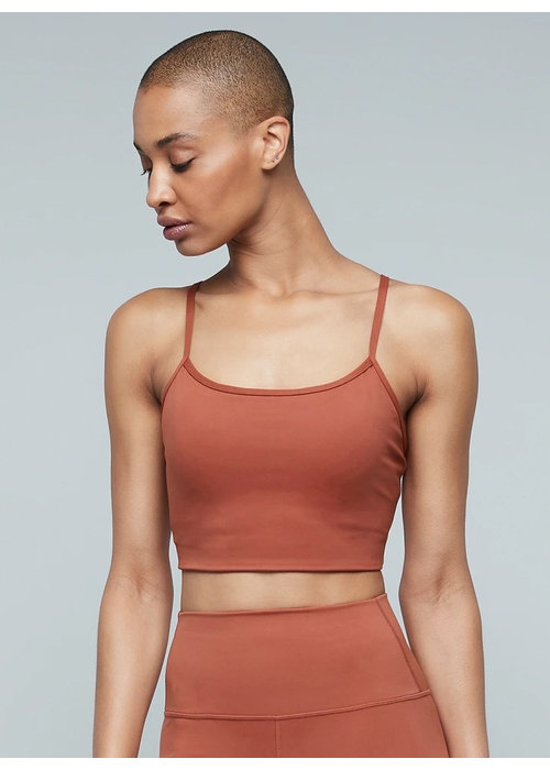 Moonchild Yoga Wear Moonchild Yoga Wear Lunar Luxe BH Top - Burnt Sienna