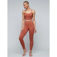 Moonchild Yoga Wear Lunar Luxe Bra Top - Burnt Sienna