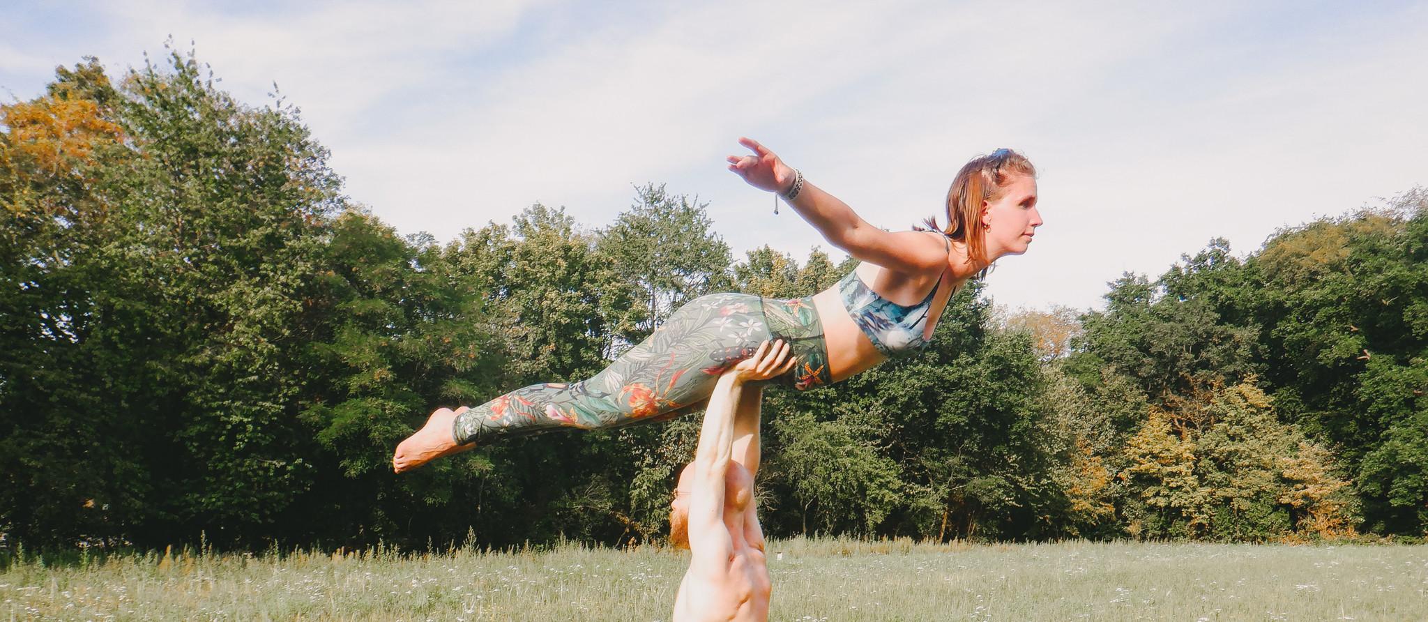 Yoga Democracy acro yoga