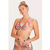 Niyama Sol Niyama Sol Dream Catcher Bra - Anaconda Coral