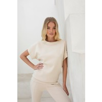 House of Gravity Bateau Sweater - Soft Sand