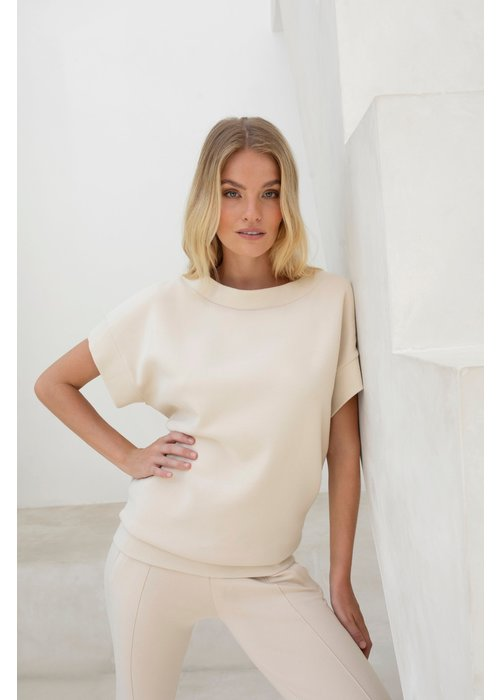 House Of Gravity House of Bateau Sweater - Soft Sand