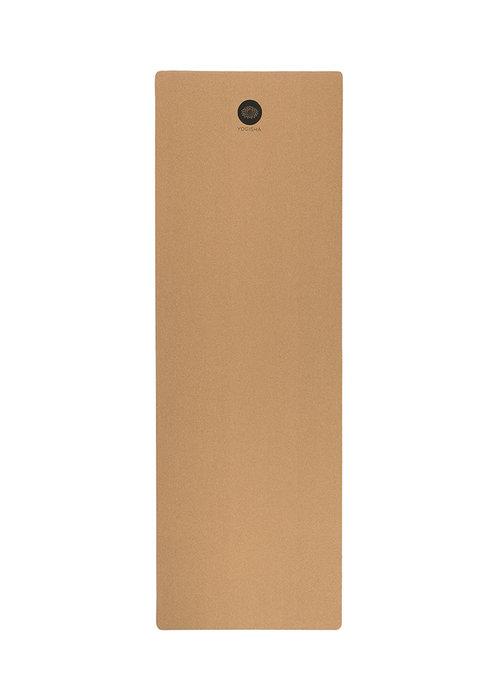 Yogisha Yogisha Cork Yoga Mat 183cm 61cm 4mm