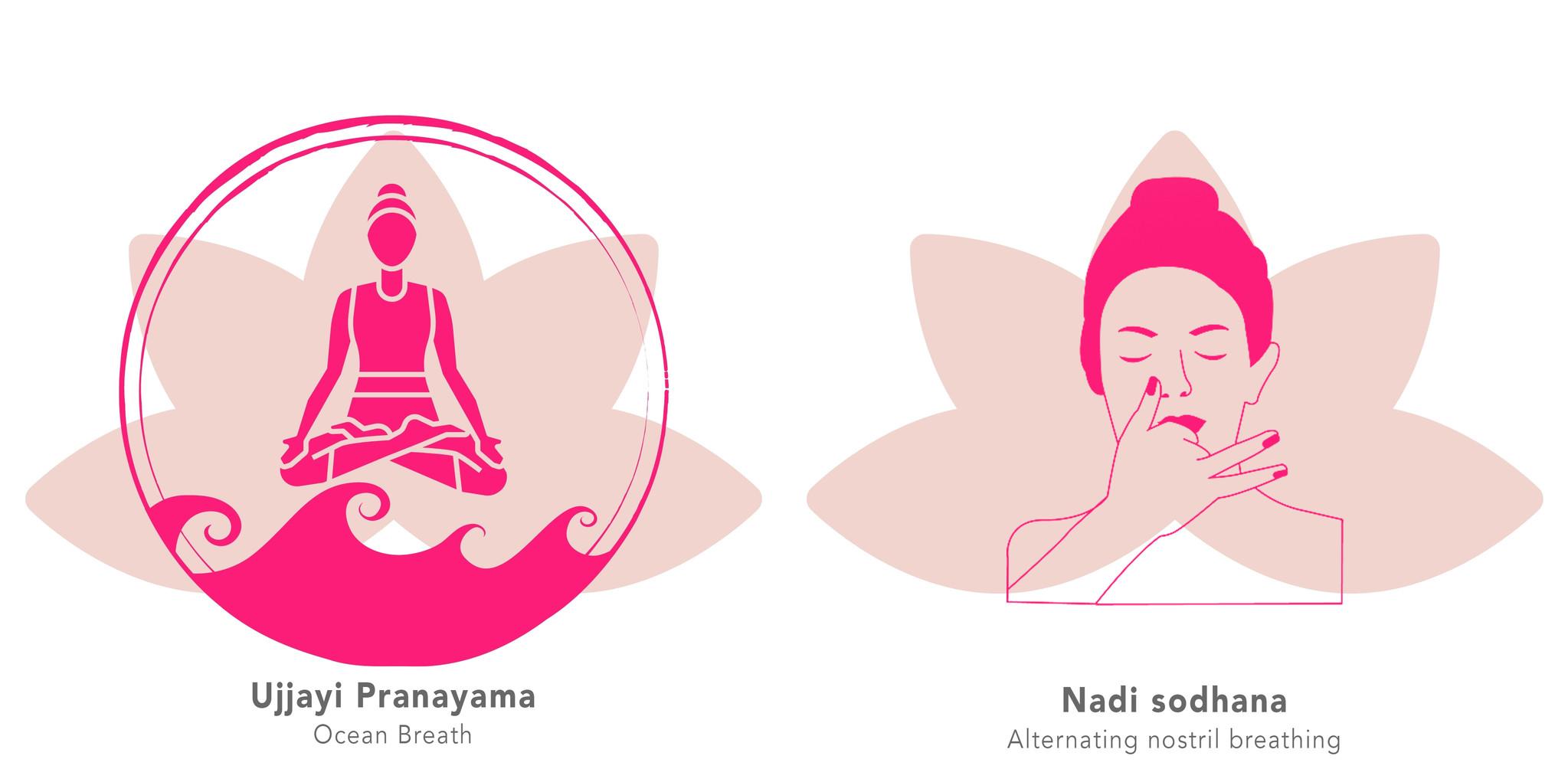 Ademhaling oefeningen yoga