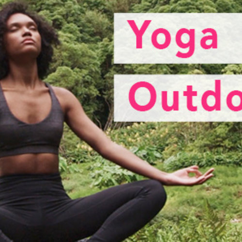 Why yoga outdoors is good for you