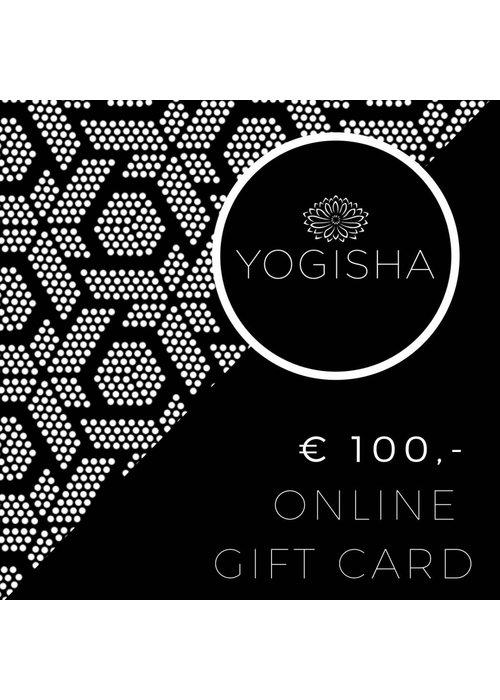 Yogisha Online Gift Card 100 Euros