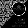 Yogisha Online Gift Card 25 euros