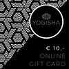 Yogisha Online Gift Card 10 euros