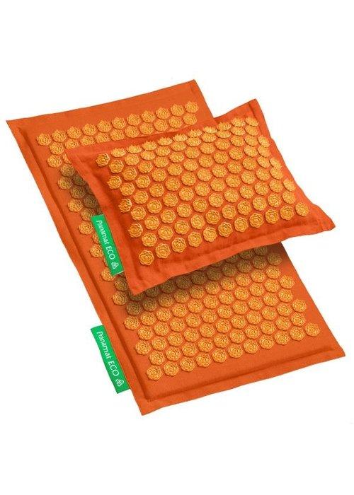 Pranamat Set Pranamat Eco + PranaPillow Oranje/Oranje