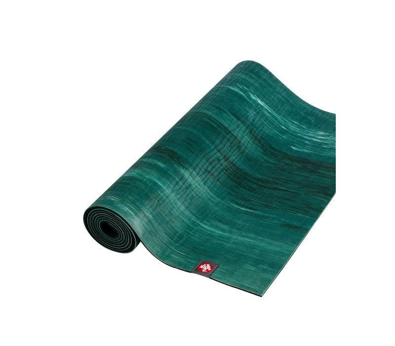 Manduka eKO Lite Yoga Mat 180cm 61cm 4mm - Deep Forest Marbled