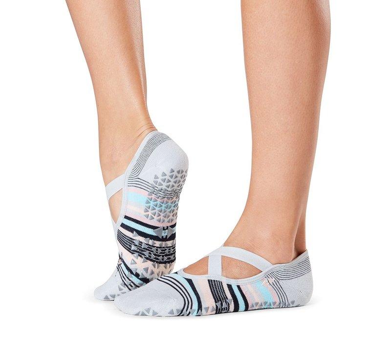 Tavi Noir Antislip Sokken Chloe - Flamingle