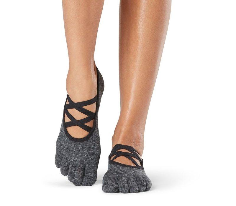 Toesox Yoga Sokken Elle Dichte Tenen - Pansy
