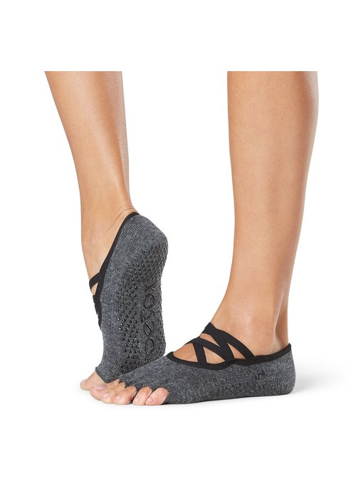 Toesox Toesox Elle Half Toe - Pansy Small
