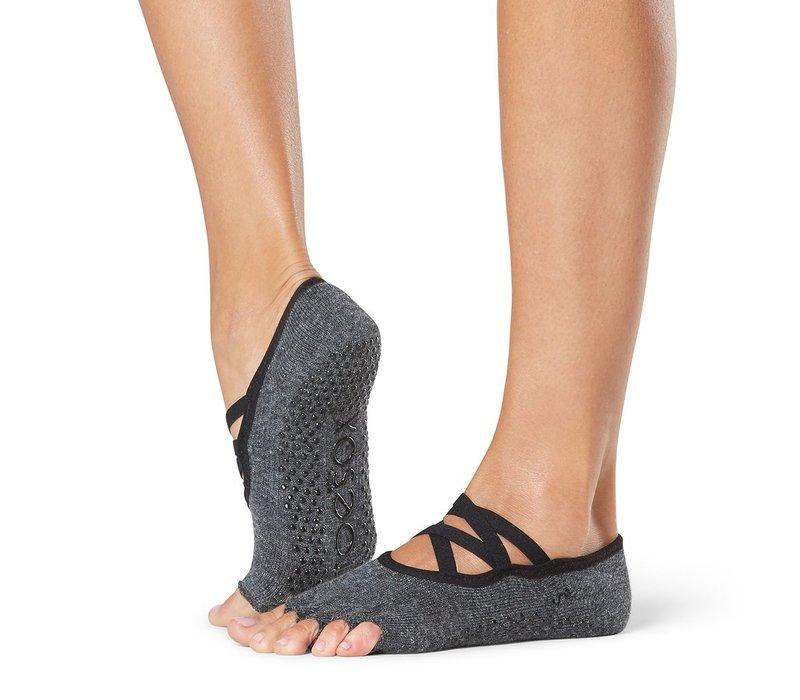 Toesox Yoga Sokken Elle Open Tenen - Pansy