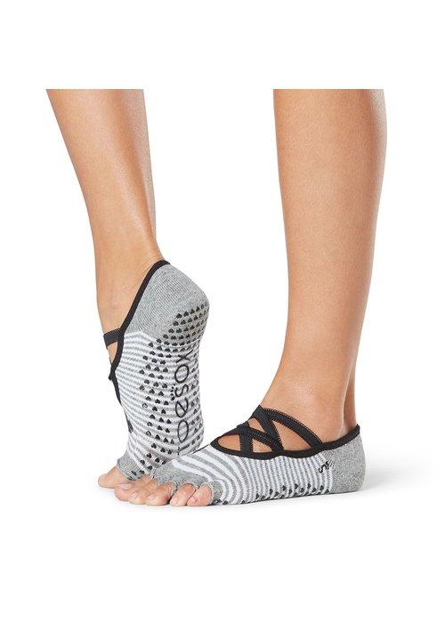 Toesox Toesox Yoga Sokken Elle Open Tenen - Be Mine