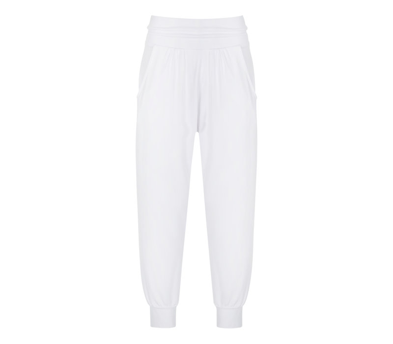Asquith Heavenly Harem Pants White