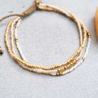 A Beautiful Story Gentle Golden Bracelet - Citrine