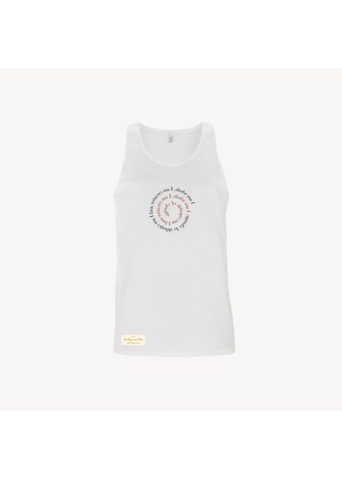 Daily Mantra Daily Mantra I Am Whole Tank Top - White